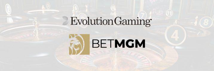 Evolution Gaming har inngått en avtale med amerikanske BetMGM Banner